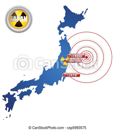 Japan Earthquake, Tsunami and Nuclear Disaster 2011 - csp5993575