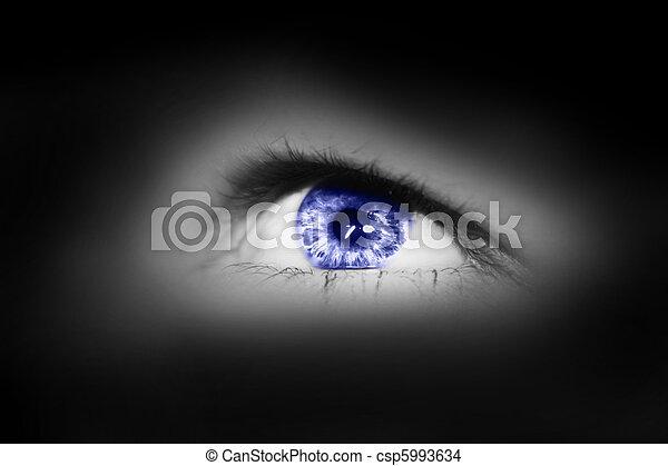 male eye - csp5993634