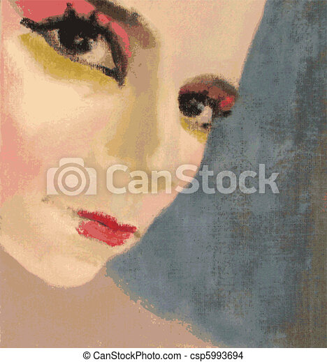 Miss Cabaret - csp5993694