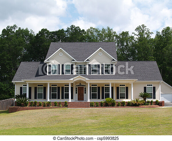 Two Story Residential Home - csp5993825