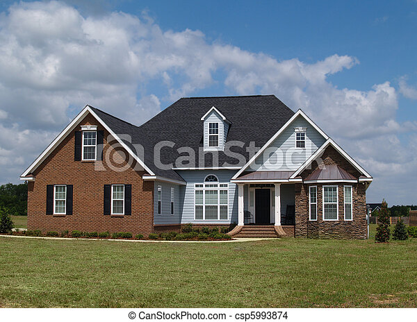Two Story Residential Home  - csp5993874