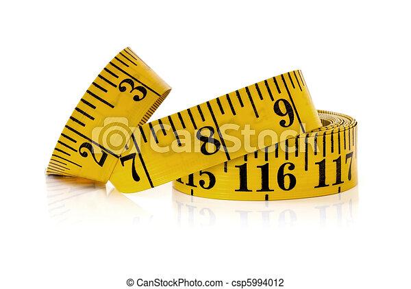 Yellow Tape Measure - csp5994012