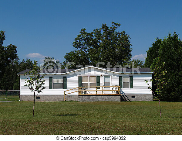 Single-wide mobile residential home - csp5994332