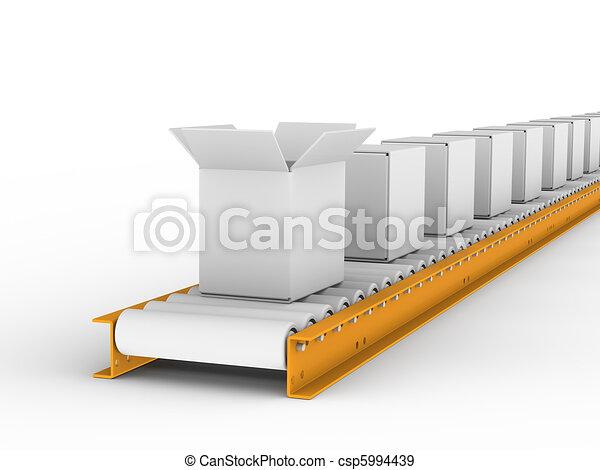 Conveyor belt  - csp5994439