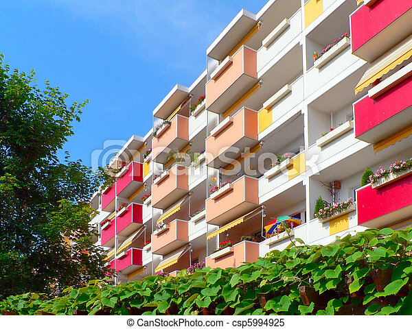 Renovated building blocks