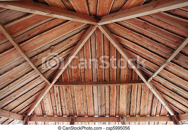 Traditional classical pergola arbor - csp5995056