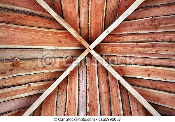 Traditional classical pergola arbor - csp5995057