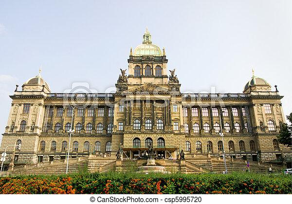 Czech National Museum in Prague - csp5995720