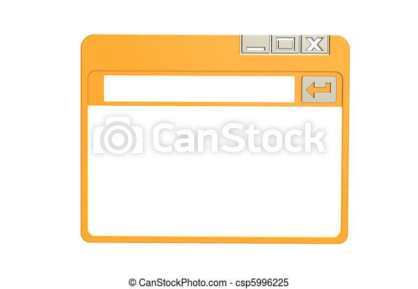 Internet Browser Window - csp5996225