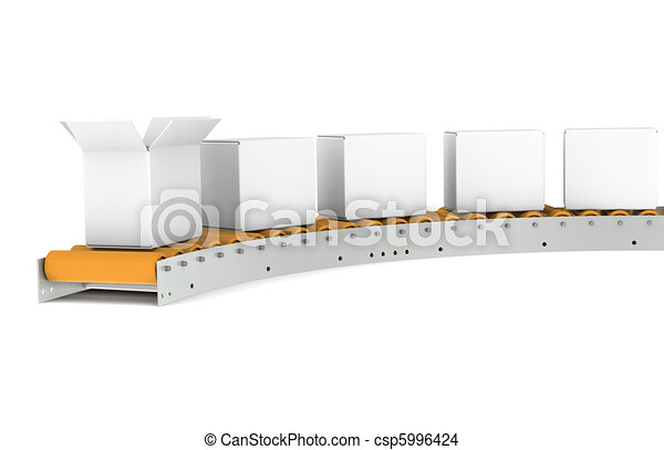 Conveyor Belt  - csp5996424