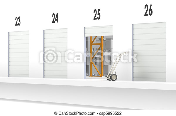 Loading Dock  - csp5996522