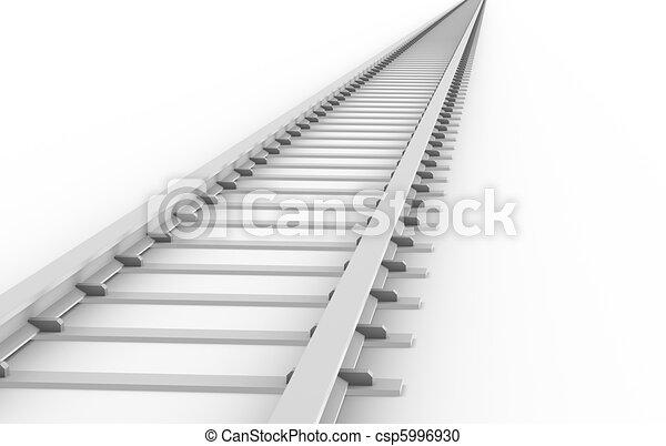 Endless Train track   - csp5996930
