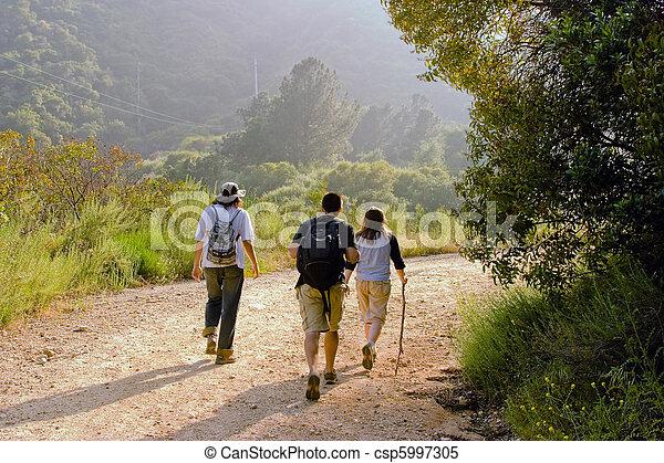 Hiking Scene. - csp5997305