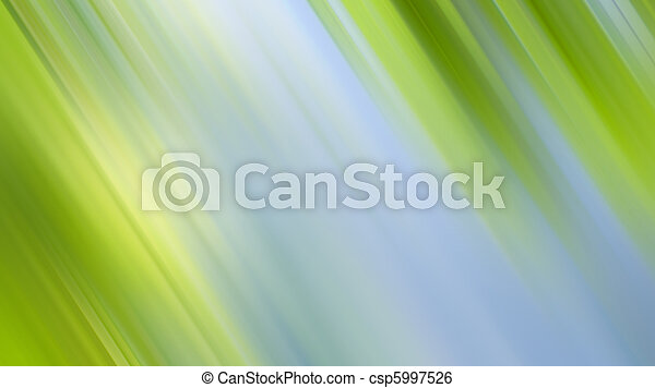 Abstrakt, grün, hintergrund, Natur - csp5997526