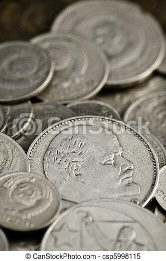 Soviet obsolete coins - csp5998115