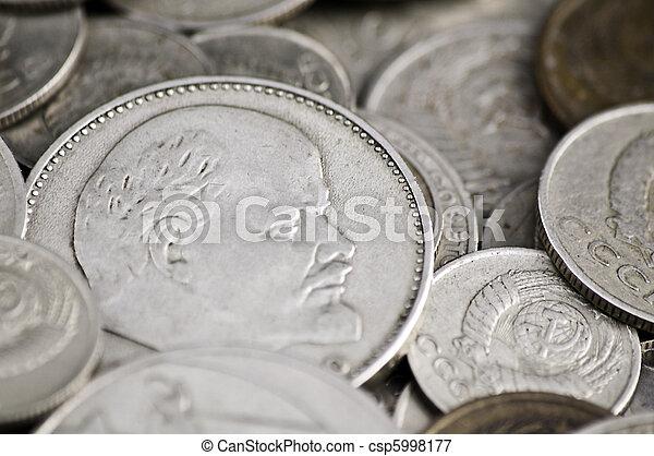 Soviet obsolete coins - csp5998177