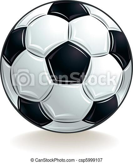 Vector soccer ball. - csp5999107