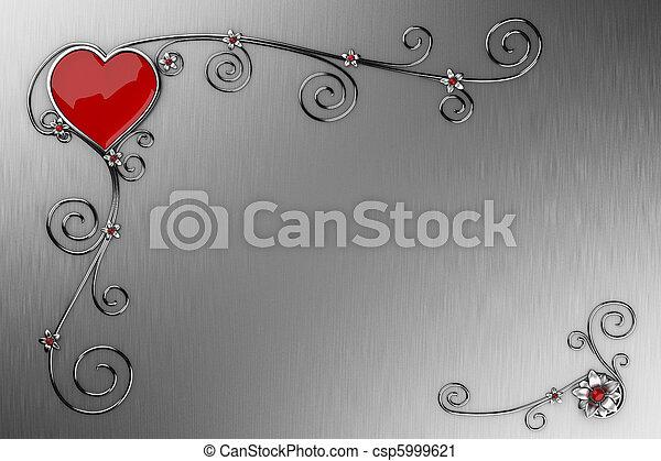 jour, carte, valentin,  s - csp5999621