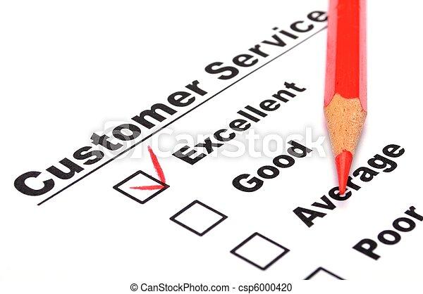 satisfaction survey - csp6000420
