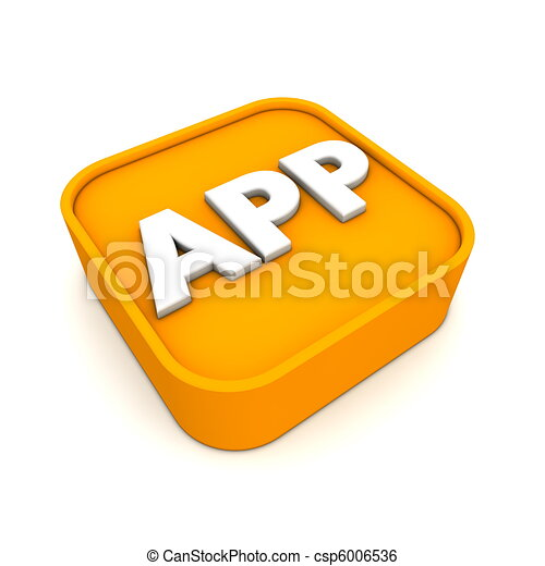 APP Icon RSS-Style - csp6006536