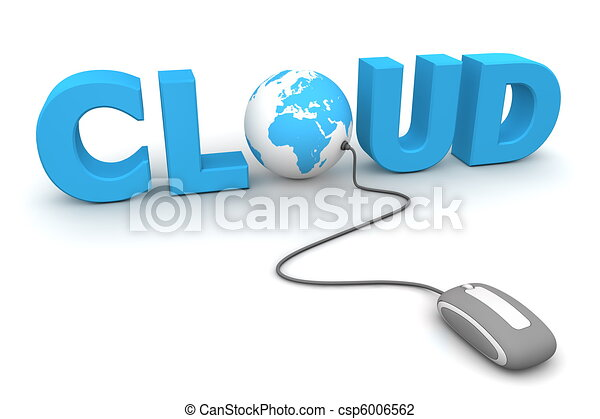 Browse the Global Cloud - Grey Mouse - csp6006562