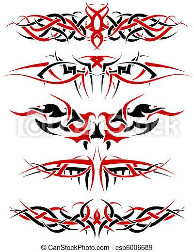 tattoos set - csp6006689