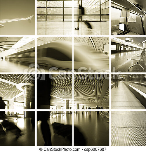 Business Travel Photo Collection - csp6007687