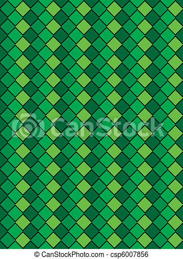 Vector Eps8, Green Variegated Diamo - csp6007856
