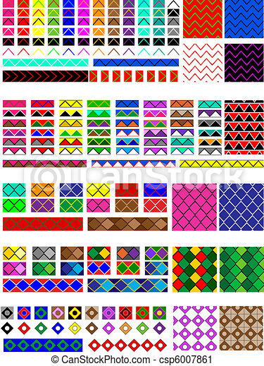 Clipart of Jpg. Bullet Points or Swatches - Jpg. 5 Different ...