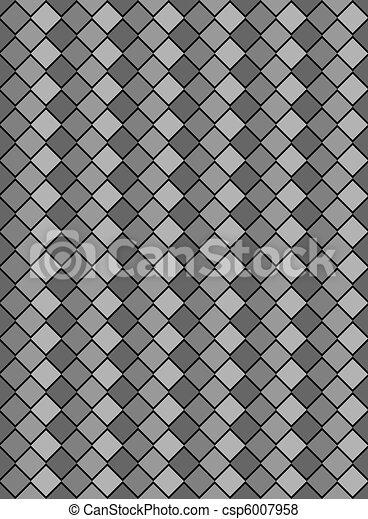 Stock de ilustraciones de blanco diamante negro for Papel pintado blanco y gris
