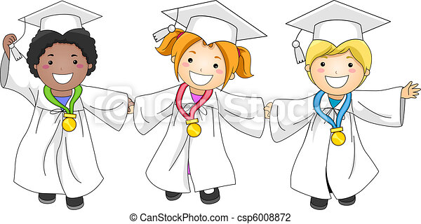 Graduation Medals - csp6008872