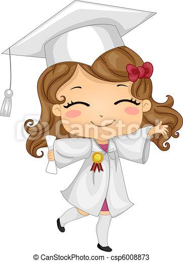 Kid Graduate - csp6008873