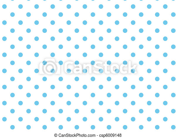 Vector Eps8 White Blue Polka Dots - csp6009148