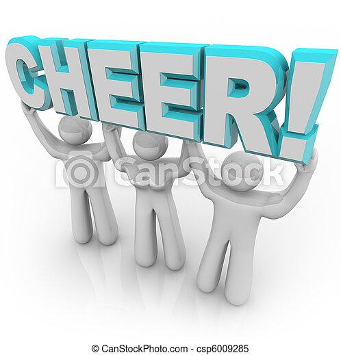 Word Cheer Csp6009285