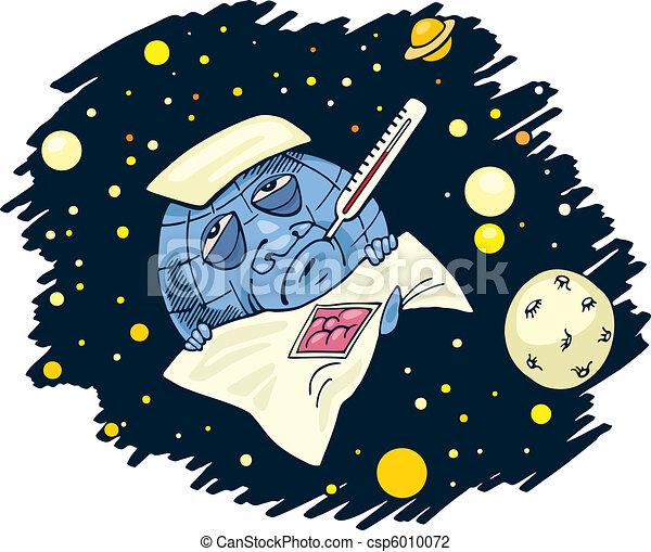 blue planet clip art