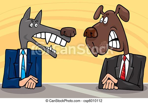 politicians debate - csp6010112