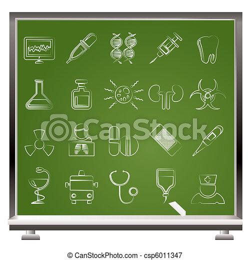 Healthcare, Medicine and hospital  - csp6011347