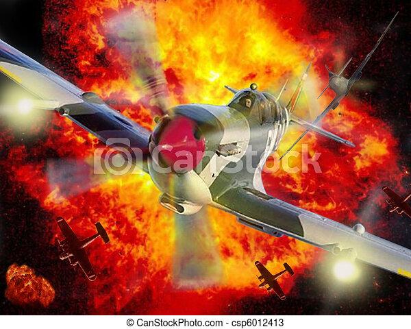 Spitfire battle of britain - csp6012413