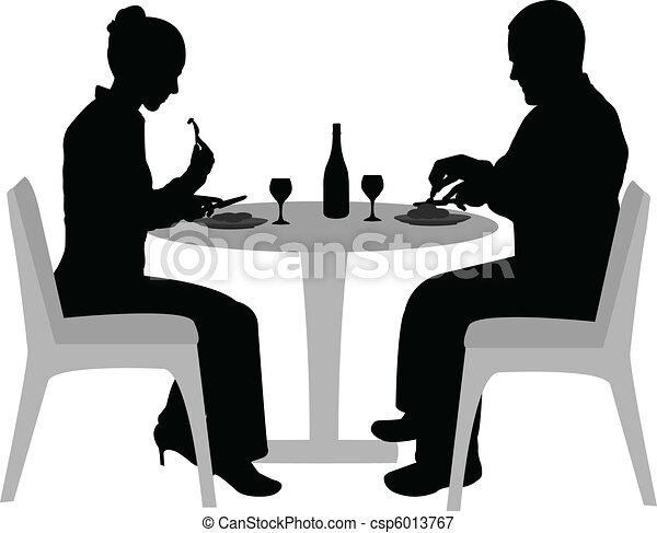 couple dining - csp6013767