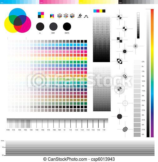 Cmyk, impresión, utilidades - csp6013943
