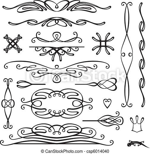 retro page decoration - csp6014040