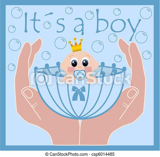 Baby Logo Vector Vector Newborn Baby Boy