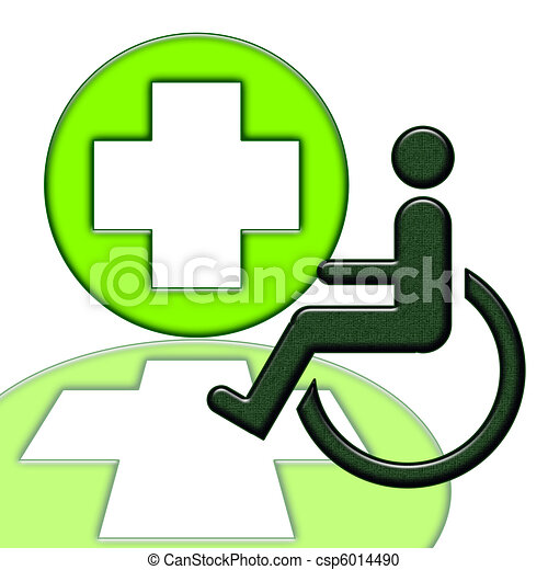 Handicapped person Stock Illustrations. 2,503 Handicapped person ...