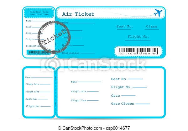 Flight Ticket - csp6014677