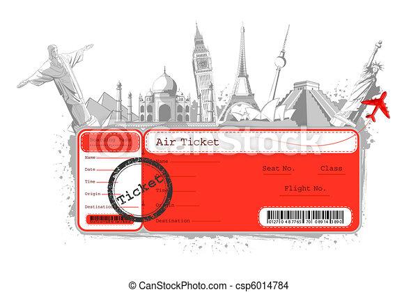 Tour around the World - csp6014784