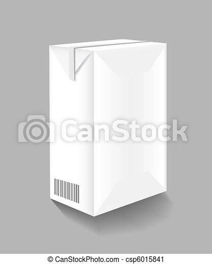 Packaging of milk - csp6015841