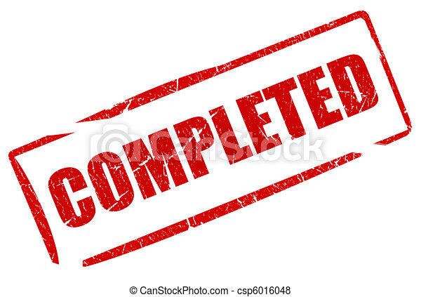 Completed stamp - csp6016048