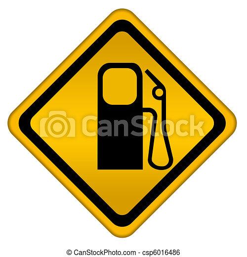 Gas station - csp6016486