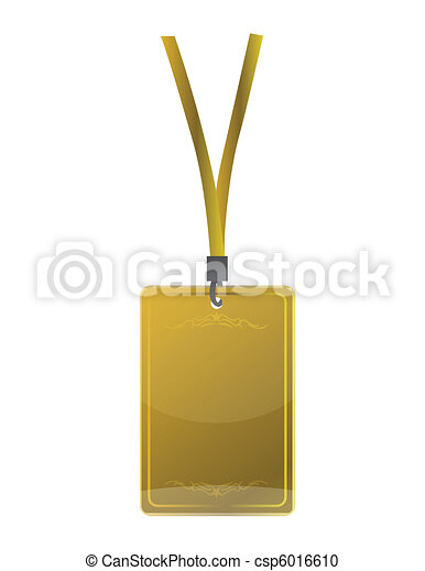 golden pass illustration  - csp6016610
