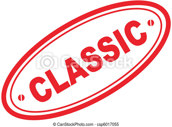 Clipart Vector of classic word stamp5 - classic in vector ...